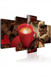 Murando DeLuxe Obraz káva s èokoládou