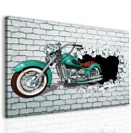 Malvis Moderní obraz - motorka