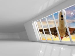 Malvis Obraz na zeï - letadlo