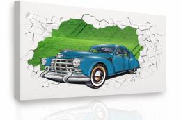 InSmile ® Obraz - auto v krajinì Velikost  120x80 cm