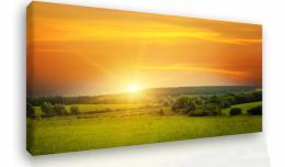 Malvis Obraz na stìnu - západ slunce v krajinì