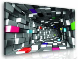 InSmile ® 3D obraz - barevné kostky