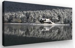 Malvis Obraz - dùm v zimì