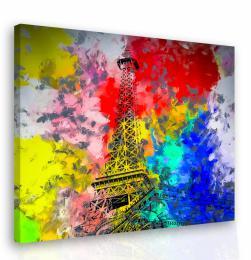 InSmile ® Malovaný obraz - Eiffelova vìž