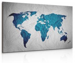 InSmile ® Obraz - pokrèená mapa