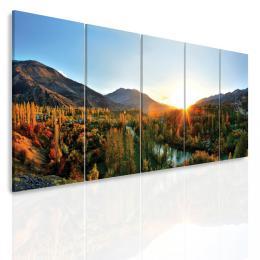 InSmile ® Vícedílný obraz - Panorama