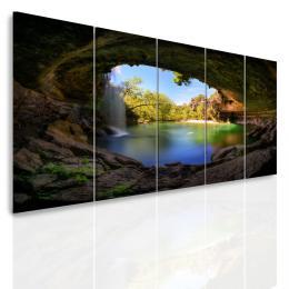 InSmile ® Vícedílný obraz - Pohádkový vodopád