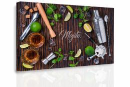 Malvis Obraz - Ingredience do Mochita