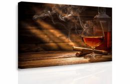 Malvis Obraz - Whiskey a doutník