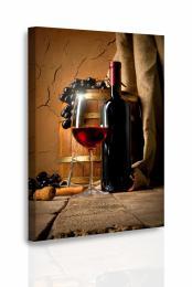 Malvis Obraz - Víno