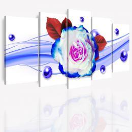 InSmile ® Vícedílný obraz - Rùže na vlnách
