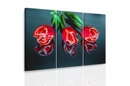 InSmile ® Vícedílný obraz - Tøi tulipány