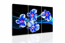 InSmile ® Vícedílný obraz - Orchidej na vlnách