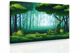 Malvis Obraz - Pohádkový les
