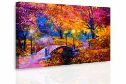 InSmile ® Obraz - Most v barevné krajinì