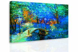 InSmile ® Obraz - Most v barevné krajinì II.