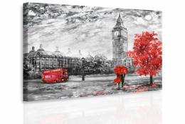 Malvis Obraz romantický Londýn