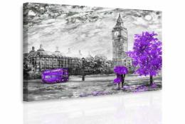 InSmile ® Obraz - Romantický Londýn II. Velikost  150x100 cm
