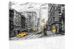 InSmile ® Obraz - Malovaný New York