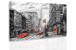 InSmile ® Obraz - Malovaný New York II.