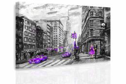 InSmile ® Obraz - Malovaný New York III.