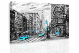 InSmile ® Obraz - Malovaný New York IV.