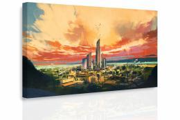 InSmile ® Obraz - Malované velkomìsto