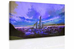 InSmile ® Obraz - Malované velkomìsto II.
