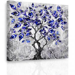 InSmile ® Obraz - Malovaný strom III. Velikost  50x50 cm