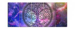 InSmile ® Pìtidílný obraz - Strom životní energie