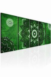 InSmile ® Obraz kouzelná mandala zelená