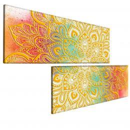 Malvis Obraz zlatá mandala