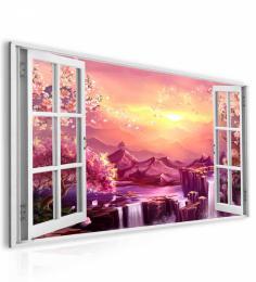 InSmile ® Obraz okno sakury