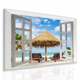 InSmile ® Obraz exotická pláž