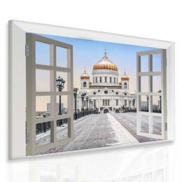 Malvis Obraz Moskva za oknem