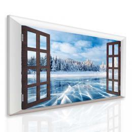 InSmile ® Obraz zamrzlé jezero