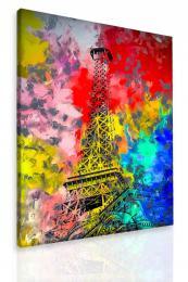 InSmile ® Obraz malovaná Eiffelova vìž