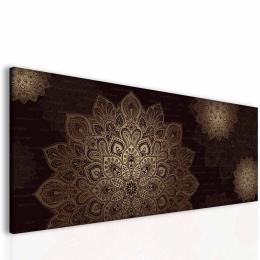InSmile ® Mandala hnìdý obraz Velikost  100x40 cm