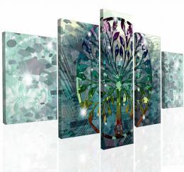 Malvis Obraz na zeï abstraktní strom