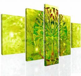 Malvis Obraz na zeï abstraktní strom V