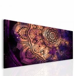 Malvis Obraz Ultra violet mandala