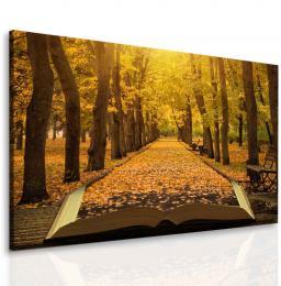 InSmile ® Obraz podzimní fantazie
