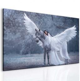 InSmile ® Fantasy Pegas a láska Velikost  40x30 cm