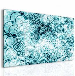 InSmile ® Obraz mrazivá mandala I Velikost  150x100 cm