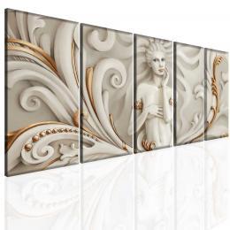 Malvis Obraz bílá socha