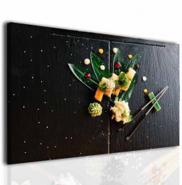 Malvis Obraz do jídelny sushi