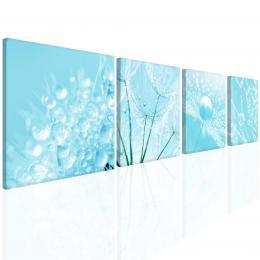 InSmile ® Blankytnì modrá mandala Velikost  80x80 cm