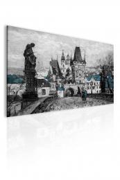 InSmile ® Obraz - Reprodukce Praha Karlùv most III