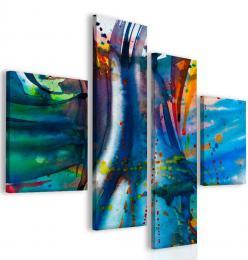 InSmile ® Modrá abstrakce
