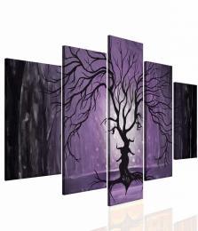 InSmile ® Pìtidílný obraz - Láska stromù